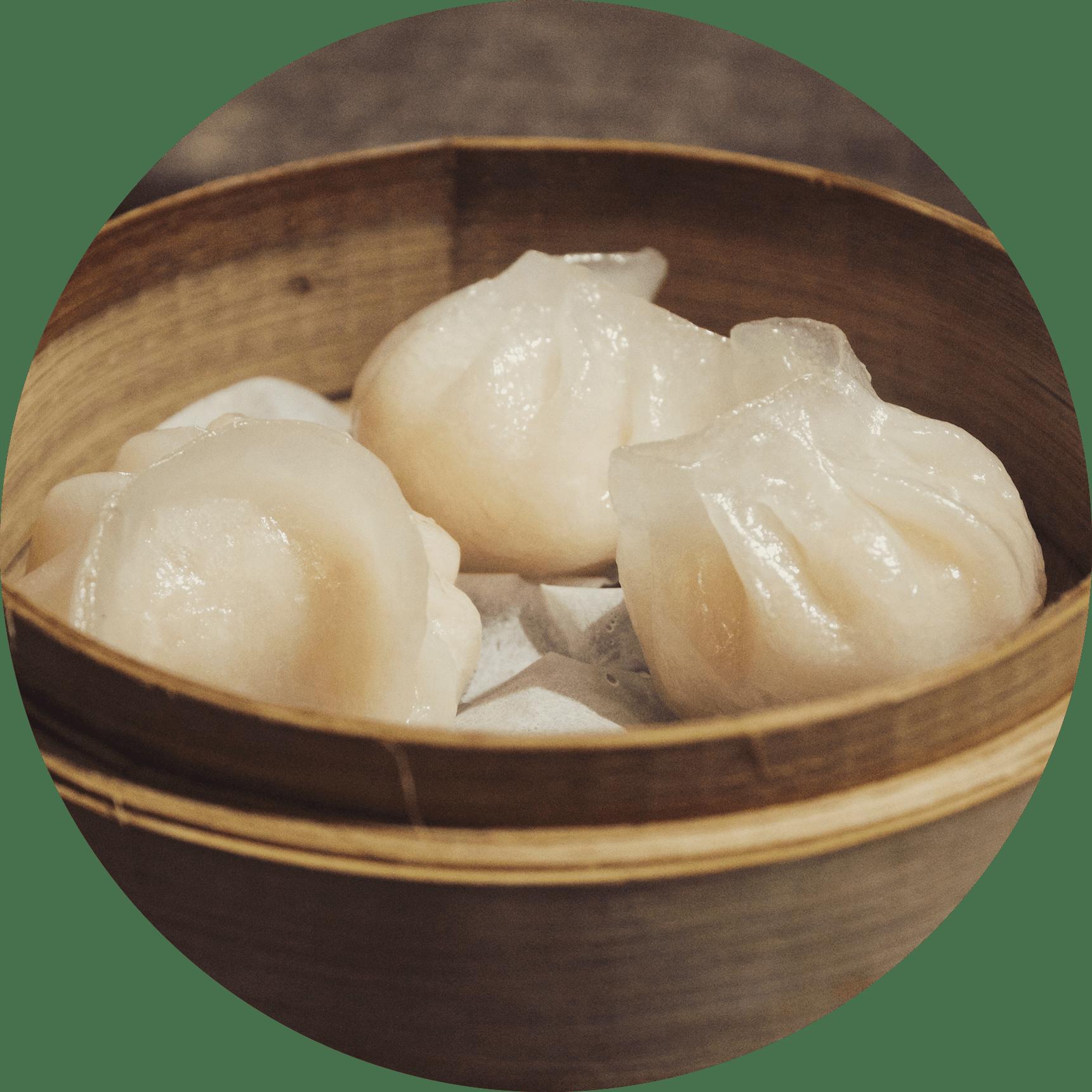 Les raviolis vapeurs La Pagode de Jade